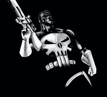Punisher Black and White by Rich3rd