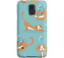 Cute Christmas Cat Samsung Galaxy Case/Skin