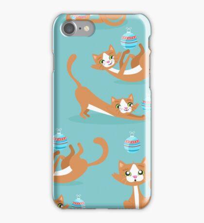 Cute Christmas Cat iPhone Case/Skin