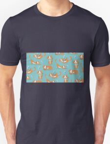 Cute Christmas Cat Unisex T-Shirt