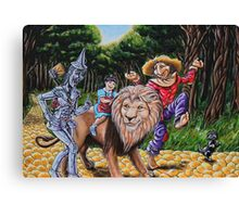 The Wizard of Oz Canvas Print