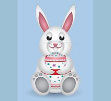 Bunny with Easter egg Unisex T-Shirt