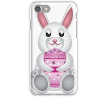 Bunny with Easter egg 2 iPhone Case/Skin