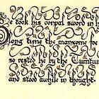 Jabberwock - verse 3 by Thorfinn