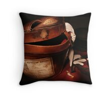 Espresso Bagagli Throw Pillow
