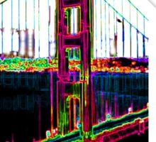 Bridge of San Francisco Sticker