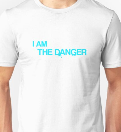 "Breaking Bad - ""I am the danger"" - Heisenberg Unisex T-Shirt"