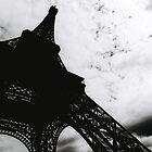 Eiffel ominous by Darryl A