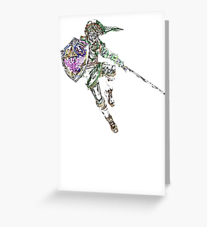 Link Neon Greeting Card
