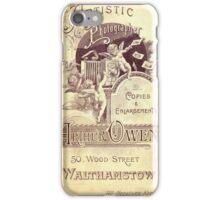 Edwardian Cabinet Card iPhone Case/Skin