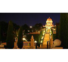 Shrine of the Bab, Ben Gurion Ave Outlook-Mt Carmel, Haifa, Israel Photographic Print