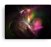 Light of My Eyes Canvas Print