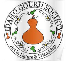 Idaho Gourd Society Logo Poster