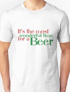Funny Christmas Beer Parody T-Shirt
