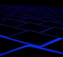Blue Grate by xXDarkAngelXx