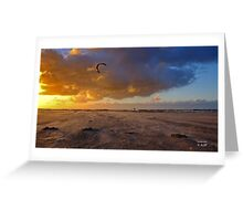 Kite surfer Greeting Card
