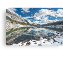 Medicine Lake Reflections Canvas Print