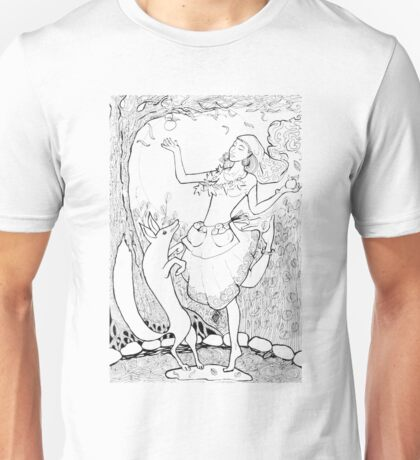 Autumn in the woods 2 Unisex T-Shirt