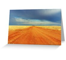 Oodnadatta Track, South Australia. Greeting Card