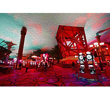 Casino Abstract  Photographic Print