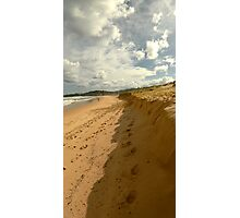 Dust the sand off your feet Photographic Print