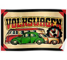 Classic VWs Poster
