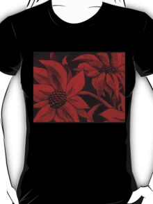 red hot flowers T-Shirt