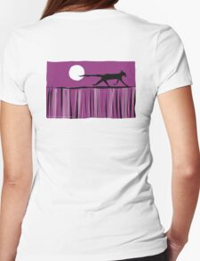 Dining Out Womens Fitted T-Shirt