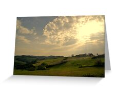 Under a Tuscan sun Greeting Card