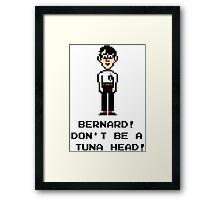Maniac Mansion - Bernard Framed Print