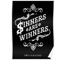 Sinners Are Winners Poster