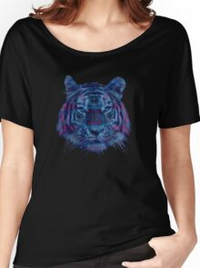 Tiger Purple Women's Relaxed Fit T-Shirt