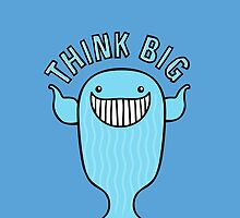 Think Big - Blue Whale by zoel