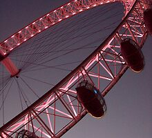 London Eye Night by Emma and Dave Atkinson