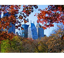 Central Park New York City photography Photographic Print