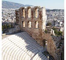 Acropolis Stadium Theater Photographic Print