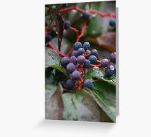 Les raisins 2 Greeting Card