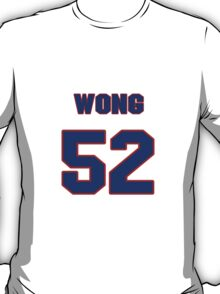 National football player Kailee Wong jersey 52 T-Shirt
