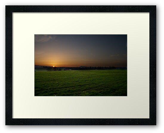 Cloudside Sunrise by Andrew Dunwoody