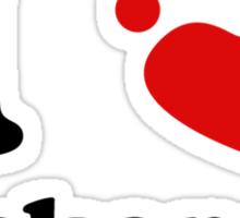 I Heart Cockapoos Sticker