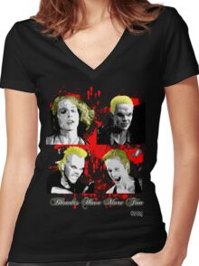 Blondes Have More Fun 2 Women's Fitted V-Neck T-Shirt