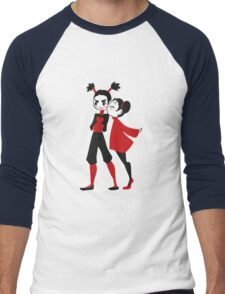 Pucca x Garu Shirt Men's Baseball ¾ T-Shirt
