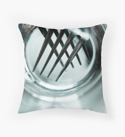 Forks Throw Pillow