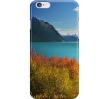Autumn Tutshi Lake iPhone Case/Skin