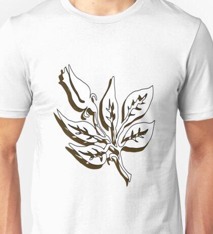 b&w rose Unisex T-Shirt