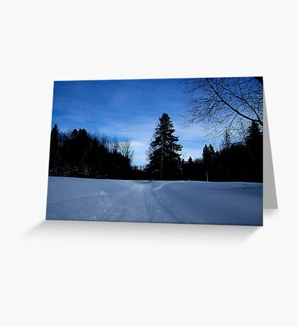 NC   Once upon a winter Greeting Card