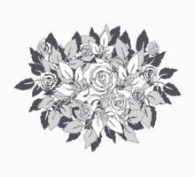 gray roses T-Shirt