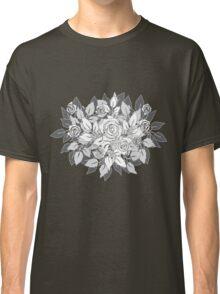 gray roses Classic T-Shirt