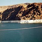Lake Meade at Hoover Dam by pwall
