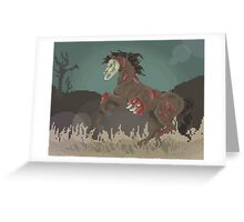 Undead Nightmare Greeting Card